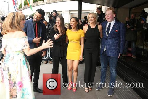 Kate Garraway, Dean Fagan, Brooke Vincent, Tisha Merry, Katie Mcglynn and Colson Smith