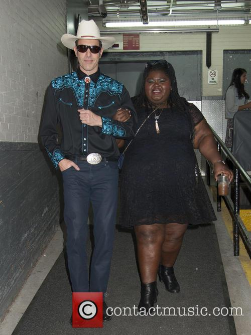 Sacha Baron Cohen and Gabourey Sidibe 2