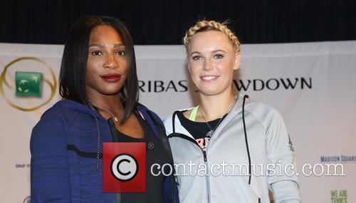 Serena Williams and Caroloine Wozniacki 2