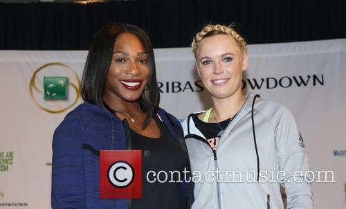 Serena Williams and Caroloine Wozniacki 3