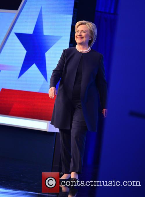 Presidential Candidate Hillary Rodham Clinton 1