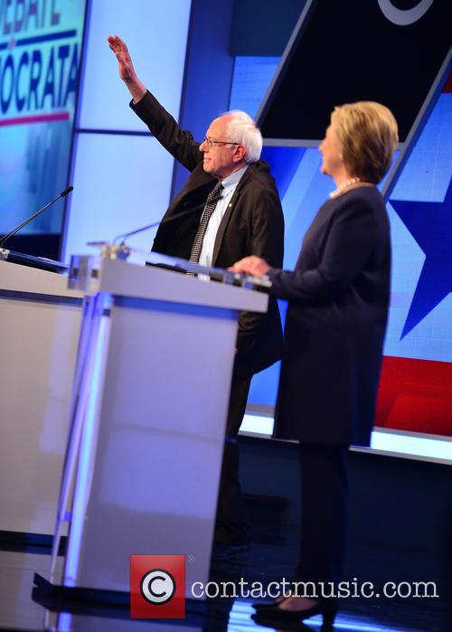 Bernie Sanders and Presidential Candidate Hillary Rodham Clinton 2