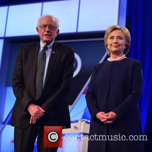 Bernie Sanders and Presidential Candidate Hillary Rodham Clinton 9