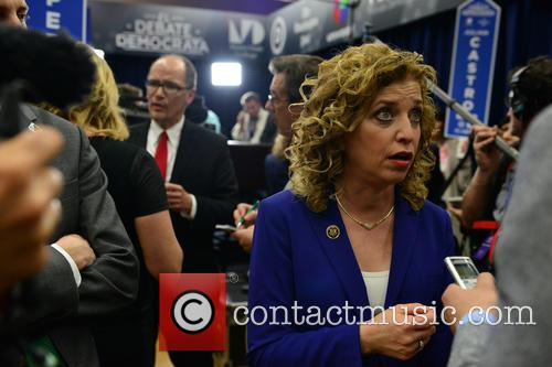 Secretary Of Labor Thomas Perez and Rep. Debbie Wasserman Schultz Dnc Chair 1
