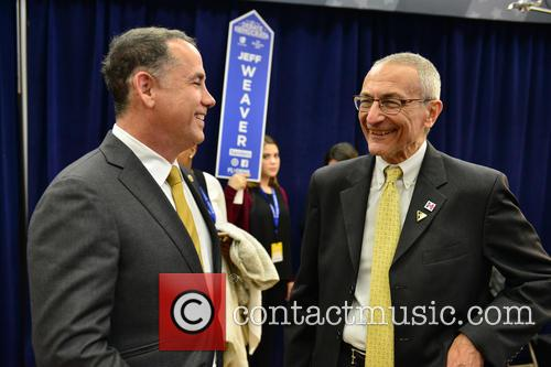 Mayor Of Miami Beach Philip Levine and John Podesta 1