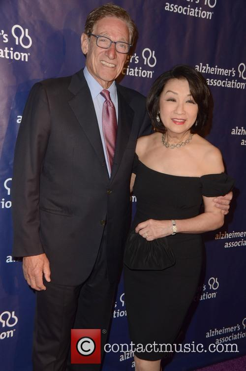 Maury Povich and Connie Chung 2