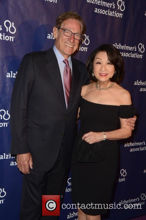 Maury Povich and Connie Chung 3