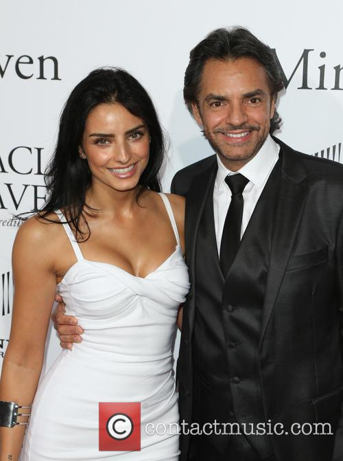 Aislinn Derbez and Eugenio Derbez 6