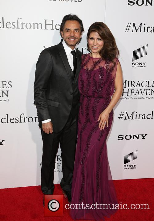 Eugenio Derbez and Alessandra Rosaldo