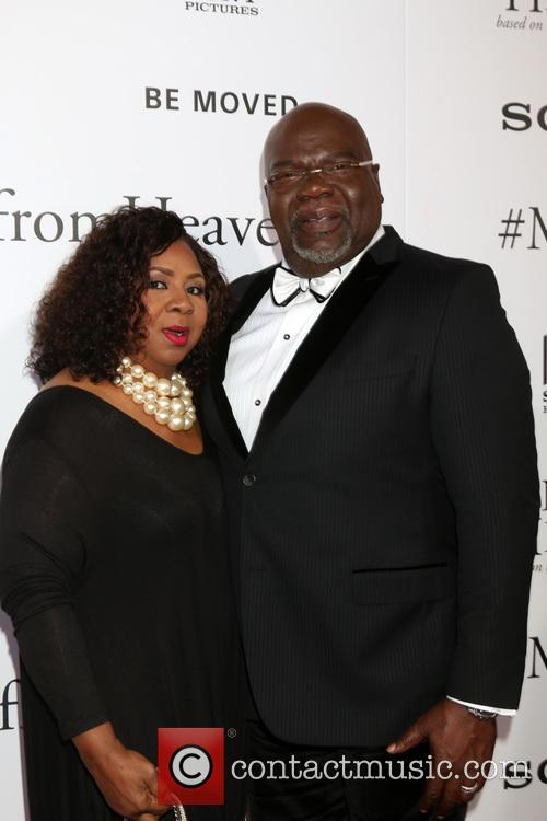 Serita Jakes and T. D. Jakes 1