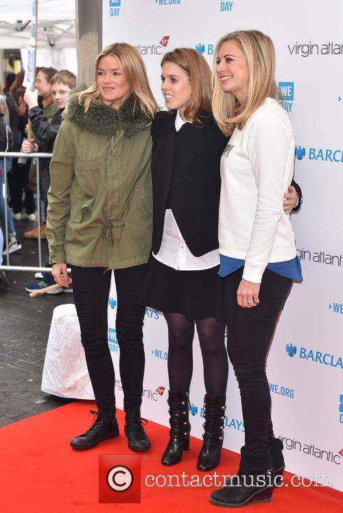 Isabella Branson, Princess Beatrice and Holly Branson 1