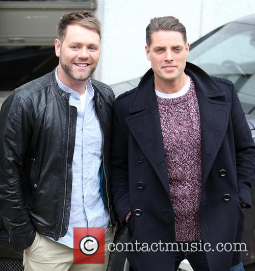 Brian Mcfadden and Keith Duffy 11