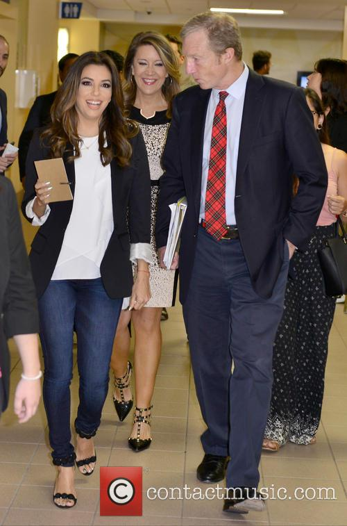 Eva Longoria and Tom Steyer 1