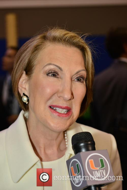 Former Republican Presidential Candidate Carly Fiorina 1