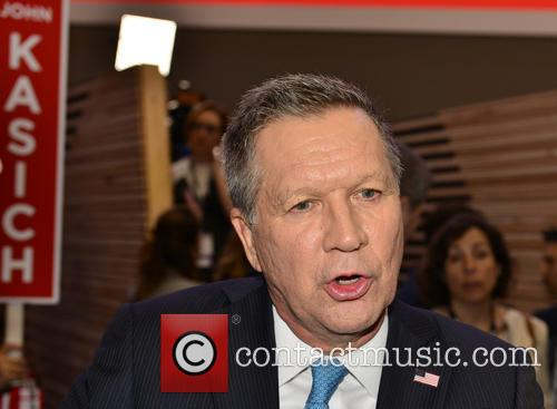 Republican Presidential Candidate Ohio Governor John Kasich 1
