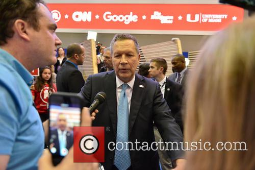 Republican Presidential Candidate Ohio Governor John Kasich 2