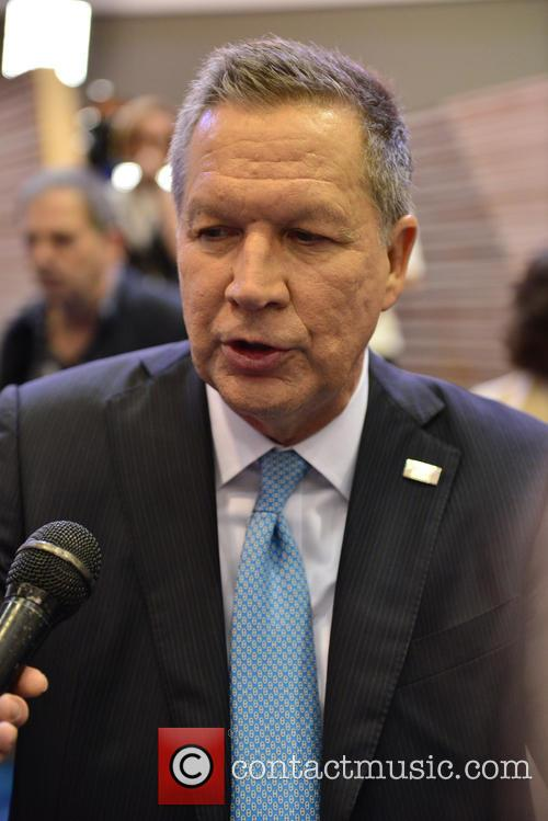 Republican Presidential Candidate Ohio Governor John Kasich 4