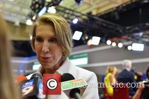 Former Republican Presidential Candidate Carly Fiorina 4