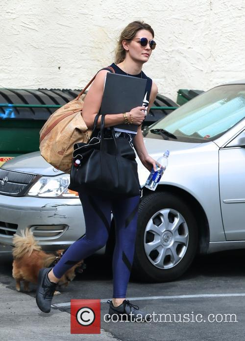 Mischa Barton and Ziggy 3