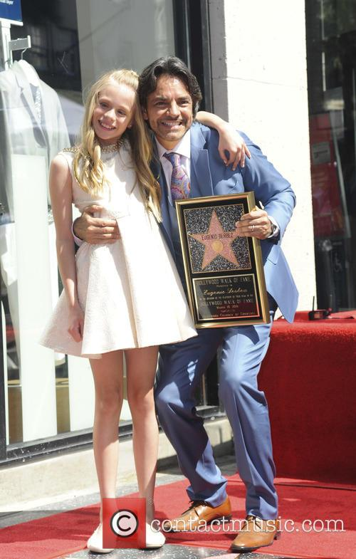Brighton Sharbino and Eugenio Derbez 2