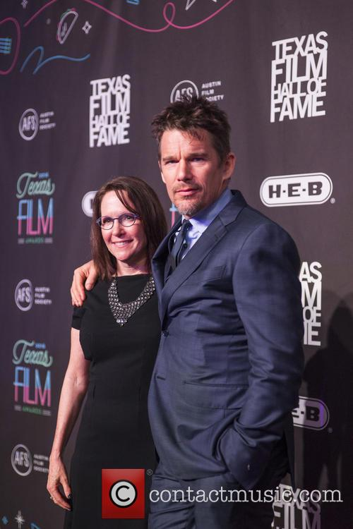 Rebecca Campbell and Ethan Hawke 1