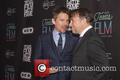 Ethan Hawke and Richard Linklater 3