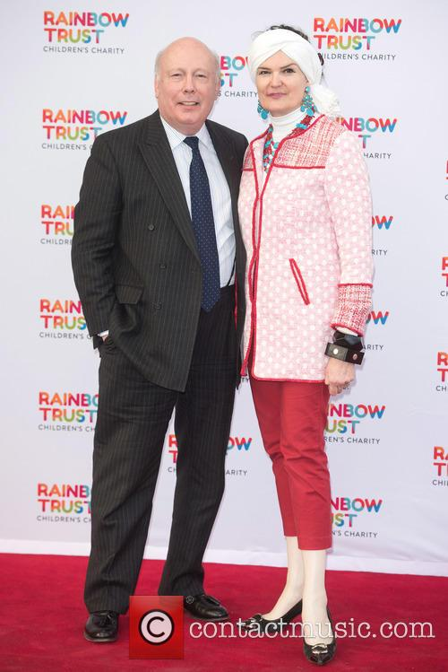 Julian Fellowes and Emma Fellowes 1