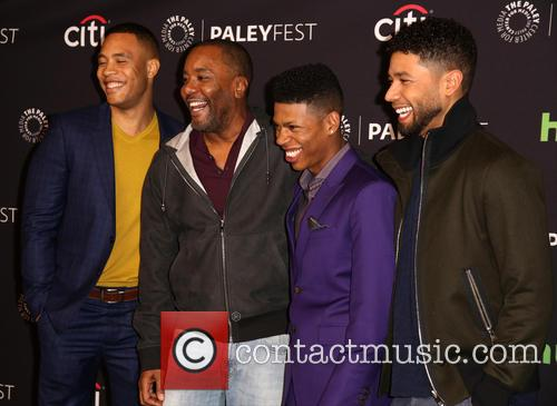 Trai Byers, Lee Daniels, Bryshere Gray and Jussie Smollett