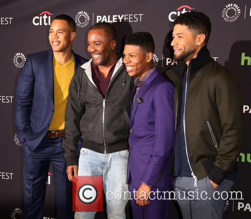 Trai Byers, Lee Daniels, Bryshere Gray and Jussie Smollett 2