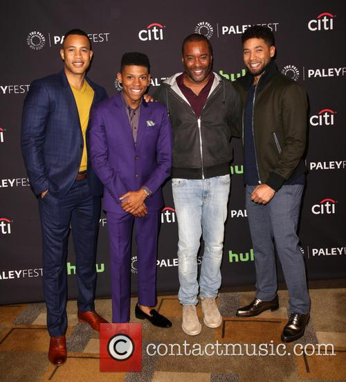 Trai Byers, Bryshere Gray, Lee Daniels and Jussie Smollett 3