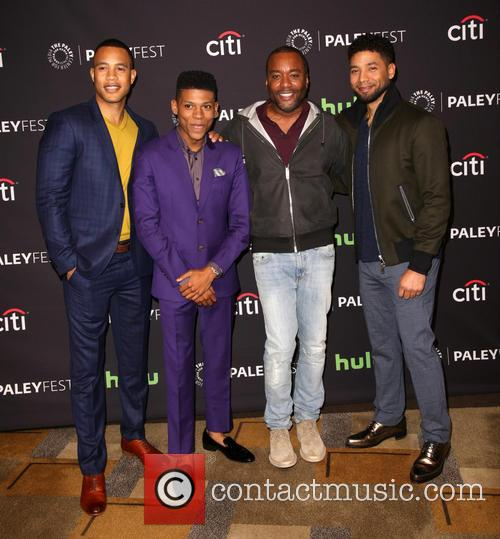 Trai Byers, Bryshere Gray, Lee Daniels and Jussie Smollett 4