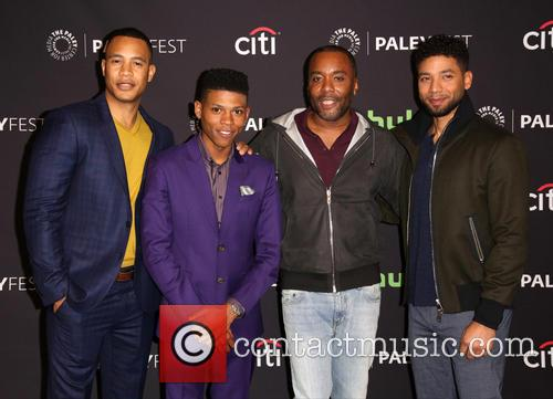 Trai Byers, Bryshere Gray, Lee Daniels and Jussie Smollett 5