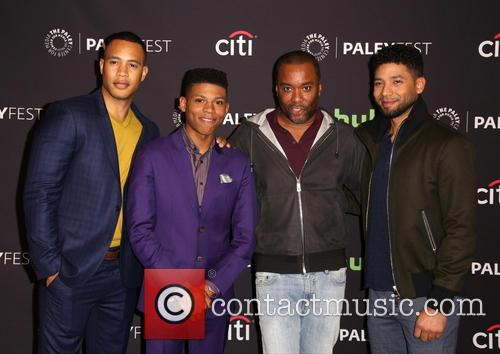 Trai Byers, Bryshere Gray, Lee Daniels and Jussie Smollett 7