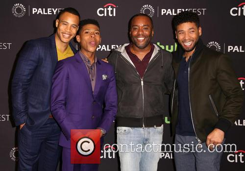 Trai Byers, Bryshere Gray, Lee Daniels and Jussie Smollett 8