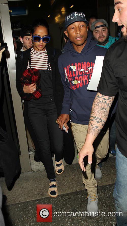 Pharrell Williams and Helen Lasichanh 2