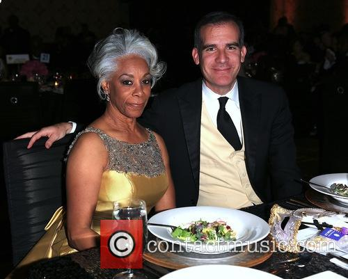 Helen Easterling Williams and The Honorable Eric Garcetti 1