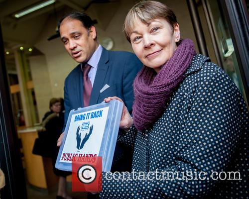 Caroline Lucas and Green Party Mp For Brighton Pavilion 1
