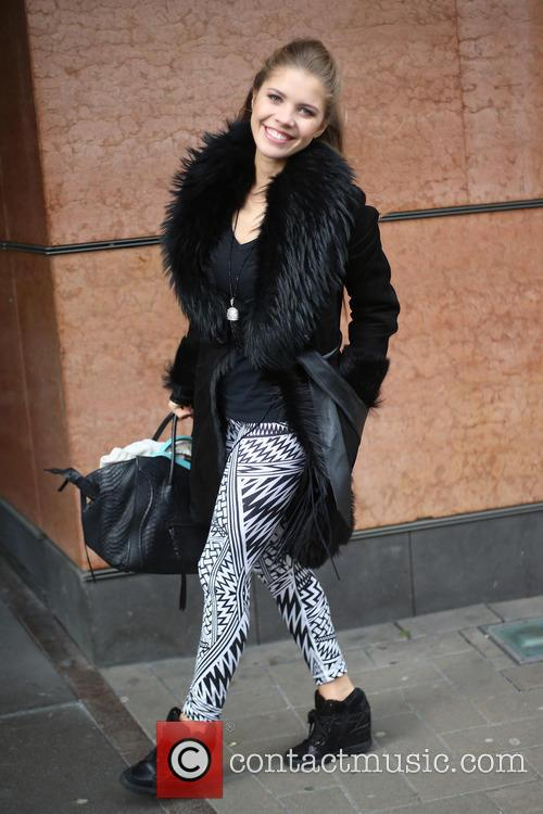 Victoria Swarovski leaving her hotel