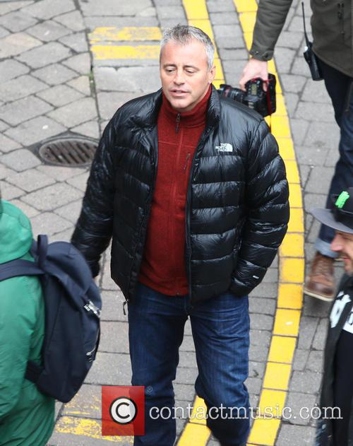 Matt Leblanc Gatecrashes London Wedding For New Top Gear
