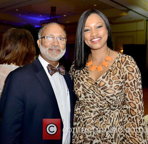 Judge Fred Seraphin and Garcelle Beauvais 1
