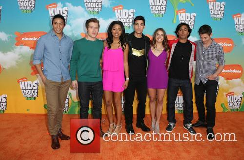 Michael Taber, Camille Hyde, Yoshi Sudarso, Davi Santos, Claire Blackwelder, Brennan Mejia, James Davies and Of Power Rangers 1