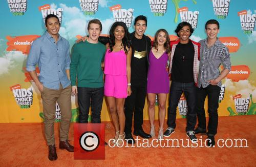 Michael Taber, Camille Hyde, Yoshi Sudarso, Davi Santos, Claire Blackwelder, Brennan Mejia, James Davies and Of Power Rangers 2
