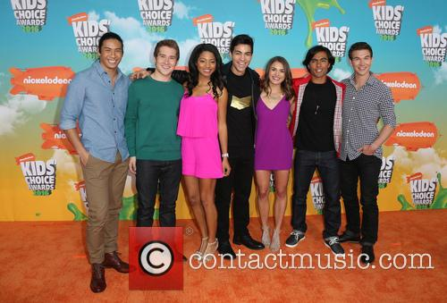 Michael Taber, Camille Hyde, Yoshi Sudarso, Davi Santos, Claire Blackwelder, Brennan Mejia, James Davies and Of Power Rangers 3