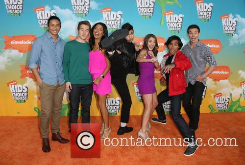 Michael Taber, Camille Hyde, Yoshi Sudarso, Davi Santos, Claire Blackwelder, Brennan Mejia, James Davies and Of Power Rangers 4