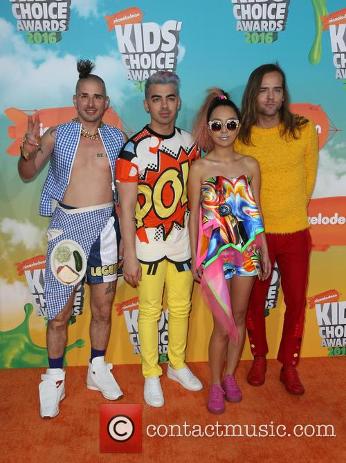 Cole Whittle, Joe Jonas, Jinjoo Lee and Jack Lawless 3