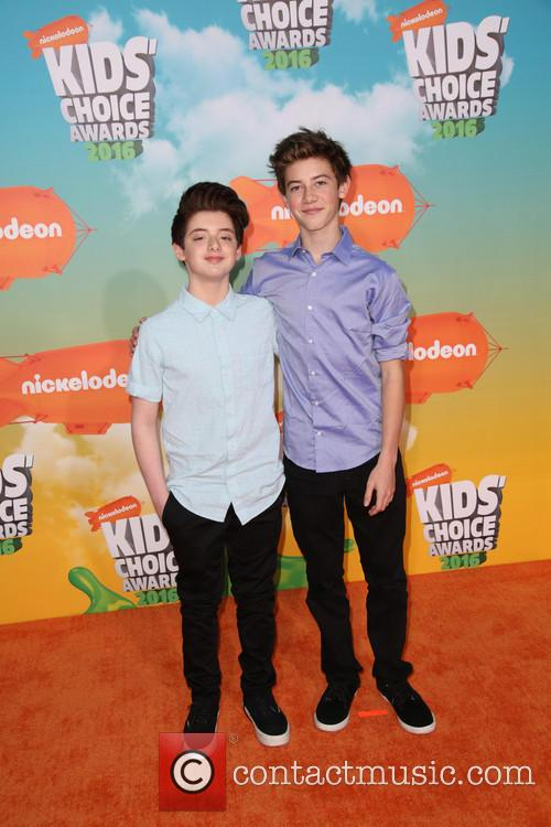 Griffin Gluck and Thomas Barbusca 1
