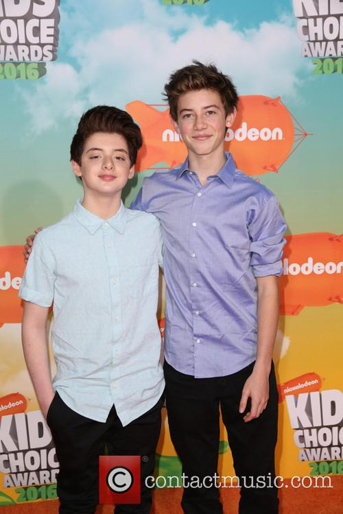 Griffin Gluck and Thomas Barbusca 2