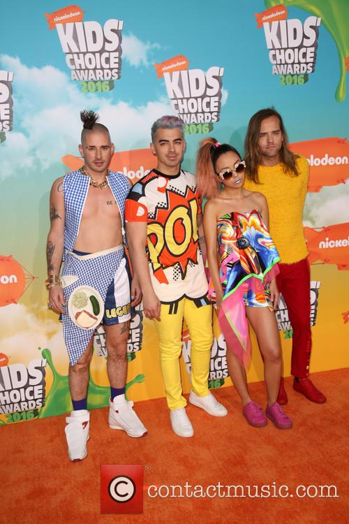 Cole Whittle, Joe Jonas, Jinjoo Lee and Jack Lawless Of Dnce 3