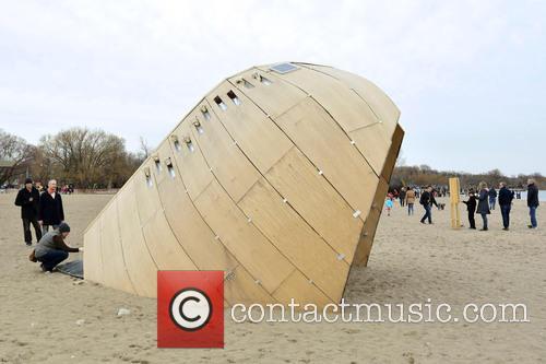 Art Installation 'the Steam Canoe' 1