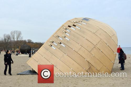 Art Installation 'the Steam Canoe' 2